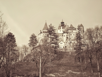 Dracula's home in Bran