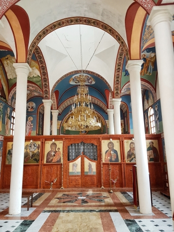 monastry in Basarbovo