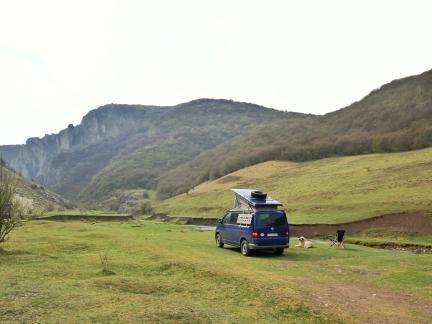 camping spot near Petrestii de Jost