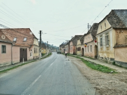 typical village in Transylvania