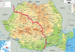 Route in Romania