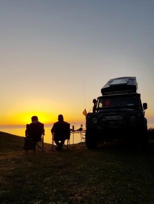in Sarikum bei Sinop einfach nur den Sonnenuntergang geniessen