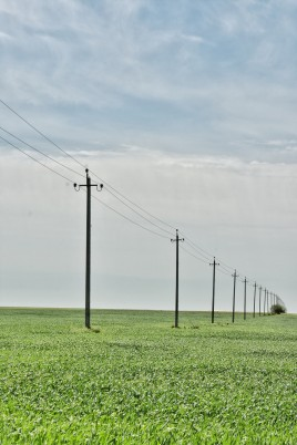 Strom, der ins Endlose führt