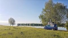 wild camping an der Wolga