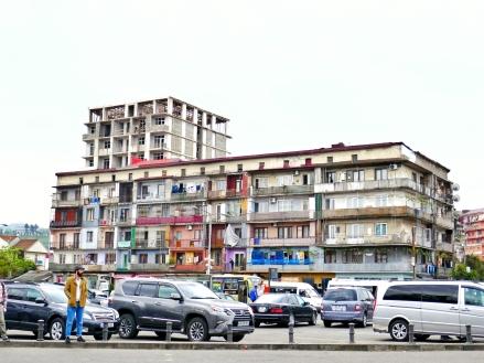 Relikte vom Kommunismus in Batumi
