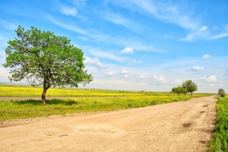 die Landschaft ist wunderschön, die Strasse der reinste Alptraum