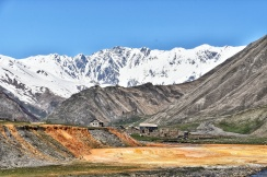 verlassenes Dorf im Truso Valley