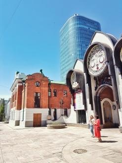 Mix von den unterschiedlichsten Stilrichtungen in Novosibirsk