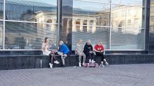 Novosibirsk im Frühling