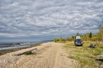 Zeit für ein Lagerfeuer am Baikal