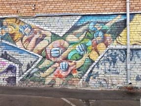 Graffiti, wie immer mein Lieblingsmotiv