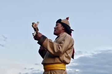 traditioneller Sänger