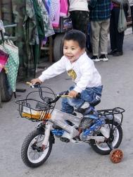 Radfahren am Schwarzmarkt