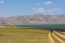 Auf dem Weg zum Kloster Erdiin Khambiin Khiid