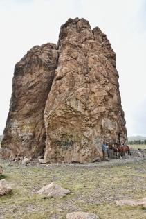 Taikhar Chuluu, ein heiliger Felsen
