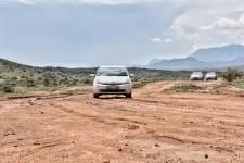 ein Prius fährt immer und überall. Motto ist, wenn der Prius den offroad Track schafft, dann wir erst recht