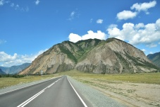Chuisky Highway wie gemalt