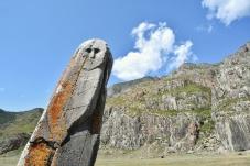 Petroglyphen direkt am Highway