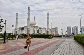 die ganze Hazrat Sultan Moschee