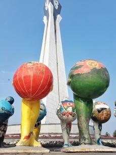 Buntes in Astana