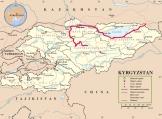 Route von Karakol zum Song Köl