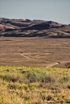 Weg zu den Dünen im Altyn-Emel Nationalpark