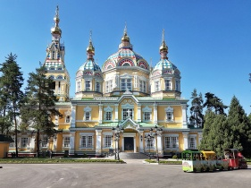 orthodoxe Kathedrale in Almaty