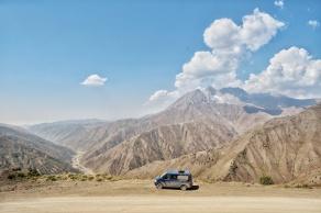 Kaldamo Pass, noch 1000 Höhenmeter runter