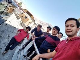 Tadschikische Architekten wollten unbedingt ein Foto mit einer österreichischen Architektin