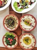 lecker libanesisches Essen in Duschanbe