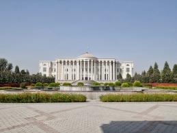 Präsidentenpalast in Duschanbe