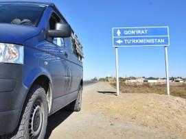 da wollen wir hin, nach Turkmenistan