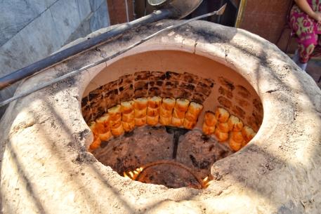 interessante Methode, Brot zu backen. und es war sehr lecker