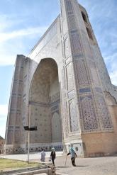 Bibi Chanym Moschee, völlig überdimensioniert