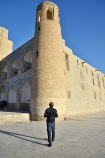 zielgerichtetes Sightseeing in Bukhara