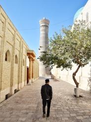 zum Beten in die Kalon Moschee
