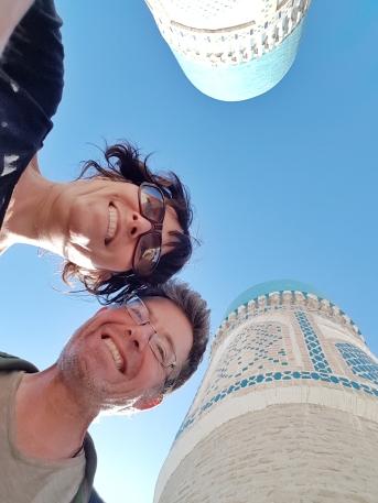 Selfie auf der Moschee Chor Minor