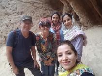 im Kal Jeni Canyon mussten wir wieder mal posieren