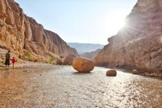 die letzten Sonnenstrahlen im Morteza Ali Canyon