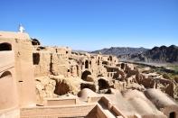 alte Lehmziegelstadt von Kharanaq