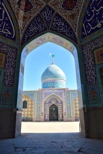 kleine Moschee in Shadhad