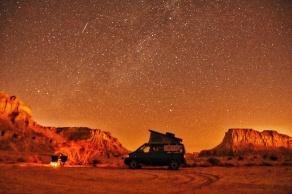 Tandis Valley, mein erstes Sternenfoto