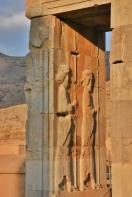 eines der erhaltenen Tore in Persepolis