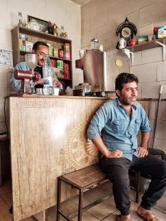 es gibt ihn doch den leckeren Kaffee im Iran