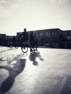 Perfekt zum Radln der Naqsh-e Jahan Square