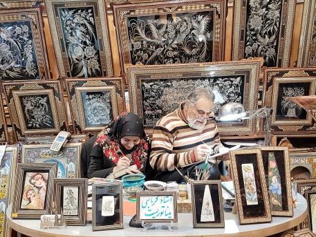 Handwerkskunst im Basar