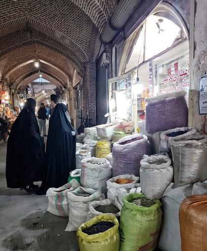 Basardamen in Tabriz