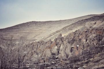 Häuschen in Bims und Tuff gebaut in Kandovan