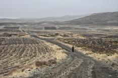 Übernachtungsplatz am Urmiasee suchen