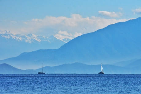 top Sicht in der Kille Bay